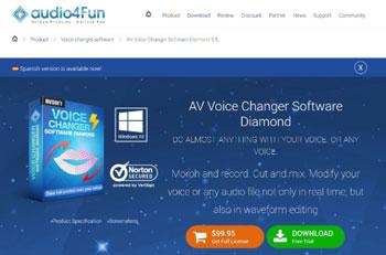 moduladores de voz para discord AV VOICE CHANGER