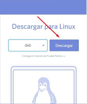 descargar discord para linux