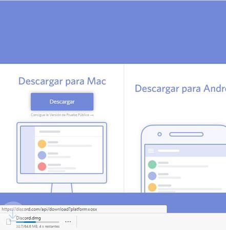 descargar discord para mac