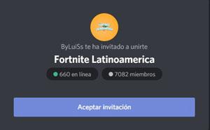 fornite latinoamerica