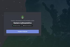 servidores Discord de Fornite gamers latinoamerica