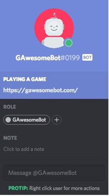 mejores bots para Discord gawesomebot
