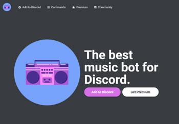 colocar bots de música en Discord groovy