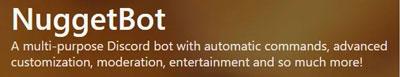 mejores bots para Discord nuggetbot