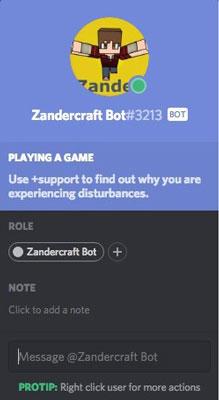 mejores bots para Discord zandercraft