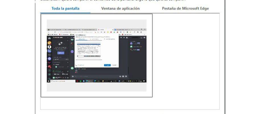 como compartir pantalla en discord