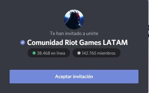 comunidad riot games latam