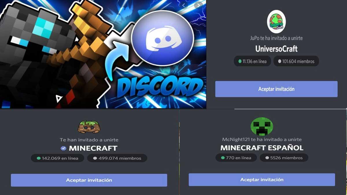 mejores servidores discord de minecraft en españa y latinoamerica