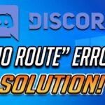 error discord sin ruta