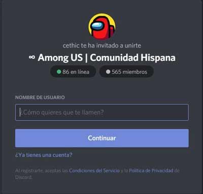 mejores servidores discord de among us comunidad hispana