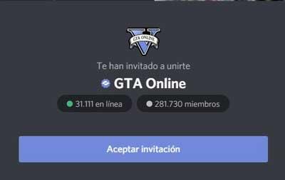 GTA V online es uno de los mejores servidos discord de gta v