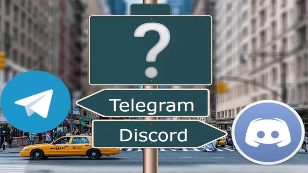 discord vs telegram cual es mejor
