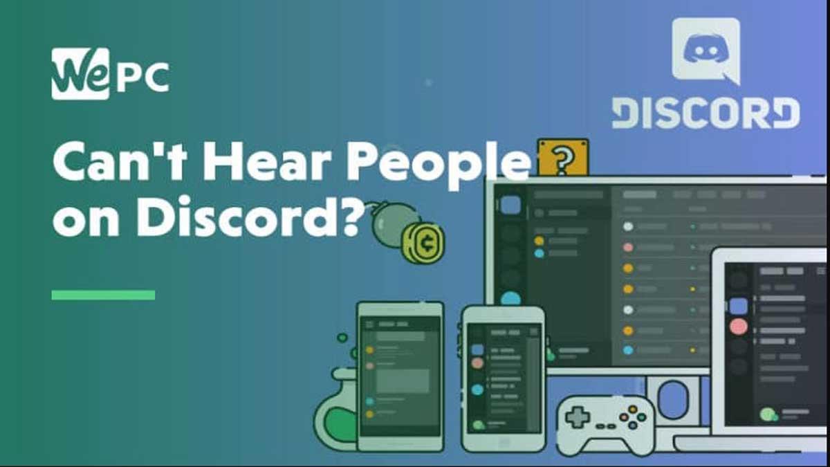 ¿Por qué no escucho en Discord ni se me escucha?
